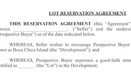 reservation tn Steps to Buy